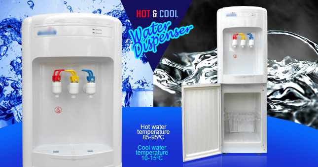 43% OFF! Hot & Cold Water Dispenser with Storage Compartment worth Rs. 15,500 for just Rs. 8,900!