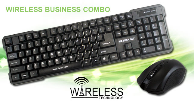 36% OFF! Shen Nu Wireless Keyboard and Mouse Combo Pack worth Rs. 3,125 for just Rs. 1,999 Inclusive Of Warranty!