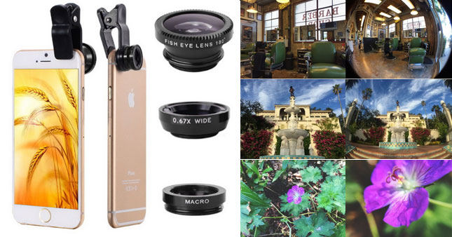 63% OFF! Universal 3 in 1 Clip-On Mobile Phone Camera Lens Kit worth Rs. 1,500 for just Rs. 550!