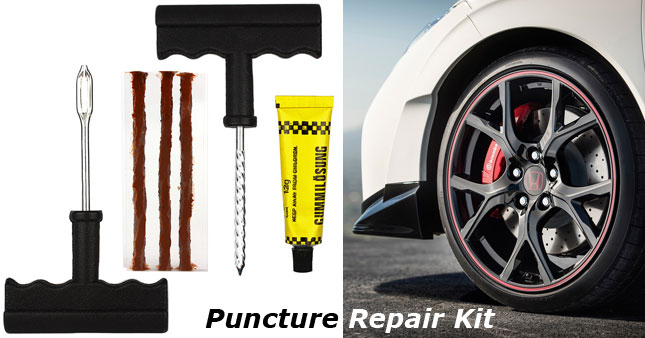 50% OFF! Tyre Puncture Repair Kit with 5 Repair Rubber Strips worth Rs. 700 for just Rs. 350!