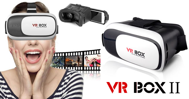 50% OFF! VR BOX Version 2.0 Virtual Reality 3D Glasses for Smartphones worth Rs. 1,500 for just Rs 750!