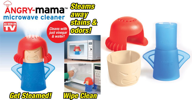 50% OFF! Angry Mama Microwave Steam Cleaner worth Rs. 800 for just Rs. 399!