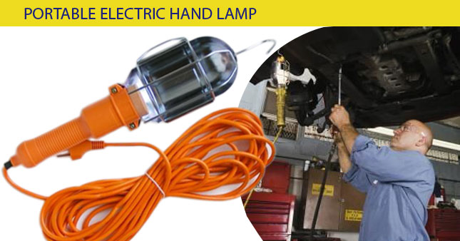 53% OFF! Portable Electric Hand Lamp worth Rs. 1,250 for just Rs. 590!