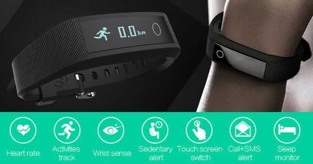 40% OFF! Bluetooth Smart Heart Rate Monitor Fitness Wrist Band Rs. 8,250 for just Rs. 4,950!