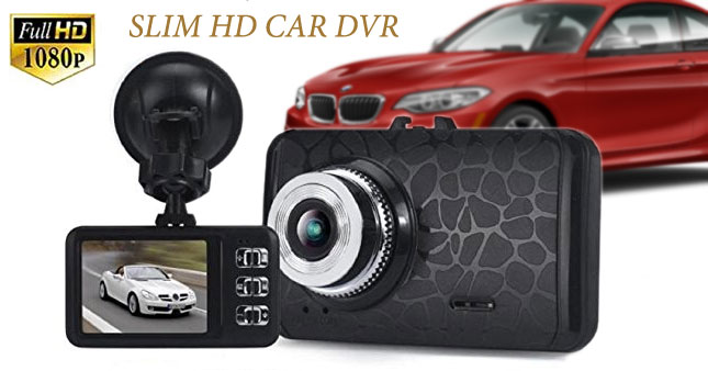 40% OFF! 1080P HD Car DVR Dash Camera Rs. 4,650 for just Rs. 2,750!
