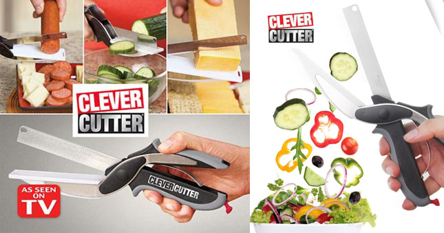 56% OFF! Clever Cutter 2 in 1 Knife and Cutting Board worth Rs. 1,950 for just Rs. 850!