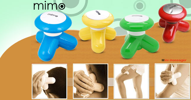 50% OFF! Mimo Electric Mini Massager worth Rs. 500 for just Rs. 250!