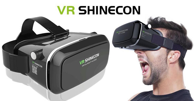 52% OFF! VR shinecon Virtual Reality Glasses worth Rs. 2,500 for just Rs. 1,200!