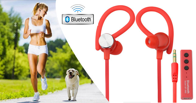 56% OFF! Super Bass Sport Wireless Stereo Bluetooth Headset With Mic worth Rs. 2,850 for just Rs. 1,250!