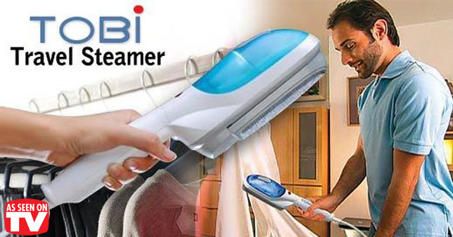 54% OFF! Extra lightweight and portable, the TOBI Travel Steamer worth Rs. 3,500 for just Rs. 1,600!