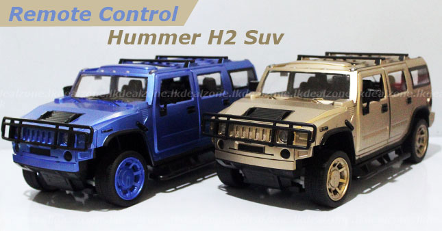 50% OFF! Multi-Functional Remote Controlled Hummer H2 Suv worth Rs. 5,500 for just Rs. 2,750!