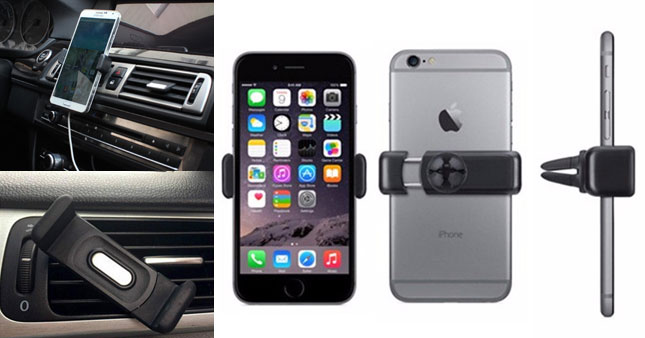 50% OFF! Car Air Vent Mobile Phone Holder worth Rs. 500 for just Rs. 250!