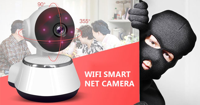 50% OFF! P2P Wifi 720P Smart Net Camera worth Rs. 11,000 for just Rs. 5,500!