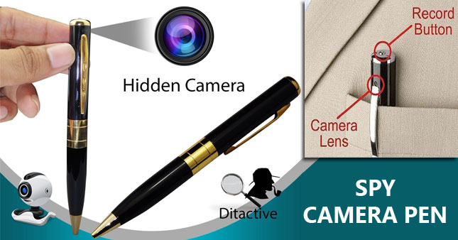 43% OFF! Hidden Spy Video Camera Recorder Pen worth Rs. 2,850 for just Rs.1,600!