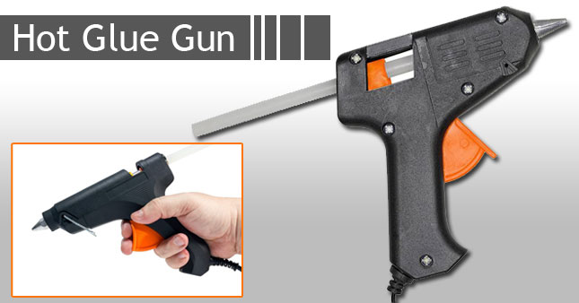 42% OFF! Hot Melt Glue Gun with free 6 Glue Sticks worth Rs.690 for just Rs.400!