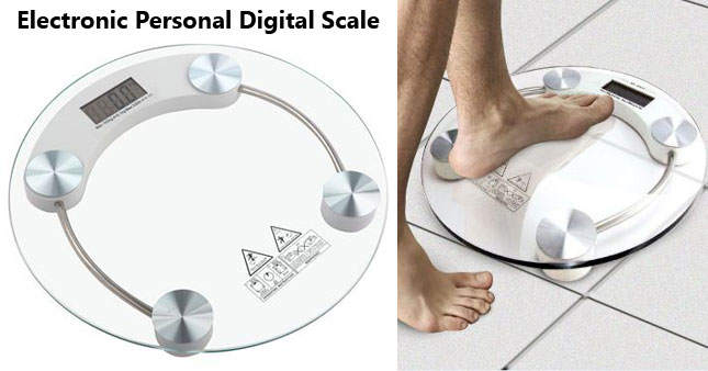50% OFF! Electronic Personal Digital Scale worth Rs. 2,500 for just Rs. 1,250!