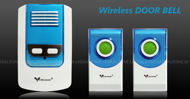 50% OFF! Wireless Two Remote Control Doorbell Kit with Digital Tones worth Rs. 2,300 for just Rs. 1,150!