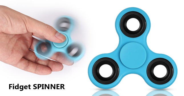 70% OFF! Tri Fidget Spinner Mind Relaxing Toy worth Rs. 1,100 for just Rs. 300!
