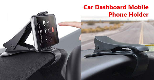 40% OFF! HUD Design Universal Car Dashboard Mobile Phone Holder Rs. 999 for just Rs. 599!