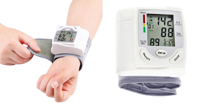 45% OFF! Wrist Design Electronic Blood Pressure & Heart Pulse Rate Monitor worth Rs. 5,300 for just Rs. 2,900!