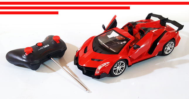 54% OFF! Ferrari Design Remote Control High Speed Racing Car worth Rs. 4,250 for just Rs. 1,950!