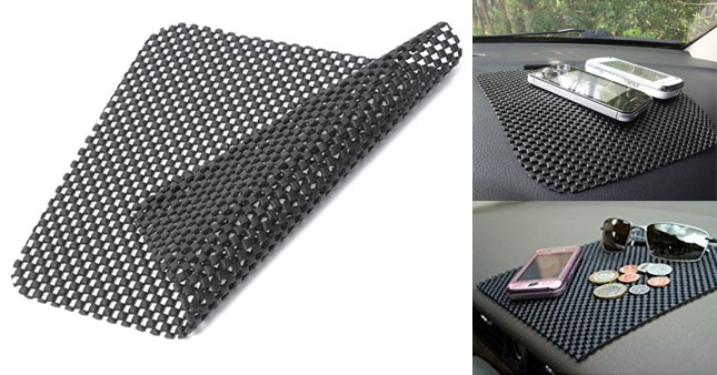 55% OFF! Anti Slip Dash Mat (30cm x 30cm) worth Rs. 335 for just Rs. 150!