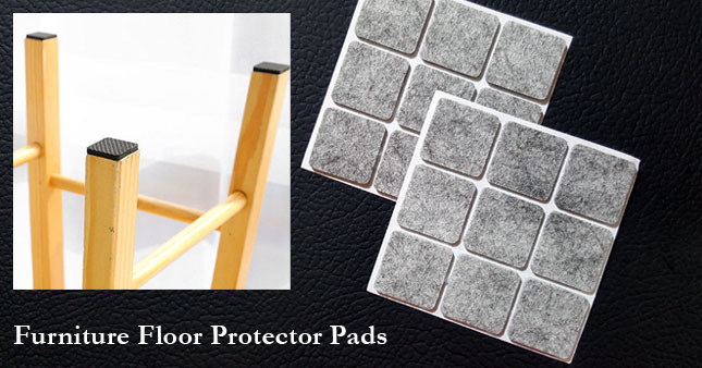 50% OFF! 18 Pcs Furniture Floor Protector Pads worth Rs. 240 for just Rs. 120!