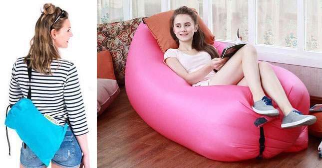 40% OFF! Inflatable Air Lounge worth Rs. 4000 for just Rs. 2400!