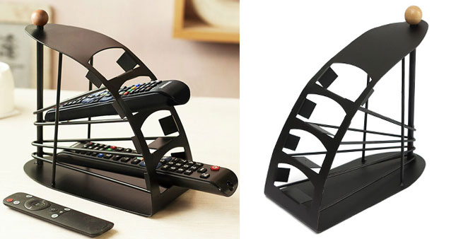 60% OFF! TV Remote Storage Organizer worth Rs. 1,650 for just Rs. 650!