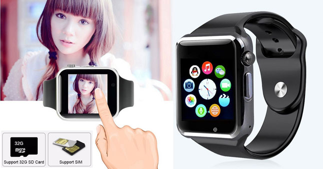 50% OFF! Bluetooth GSM A1 Smart Watch with Camera worth Rs. 3,700 for just Rs. 1,850!