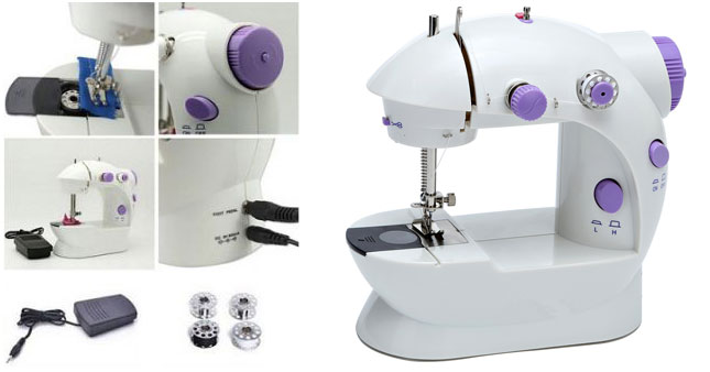 50% OFF! Electric Mini Sewing Machine worth Rs. 5,500 for just Rs. 2,750!