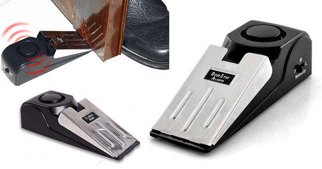50% OFF! Anti-Theft Door Stop Wedge Alarm worth Rs. 1,200 for just Rs. 600!