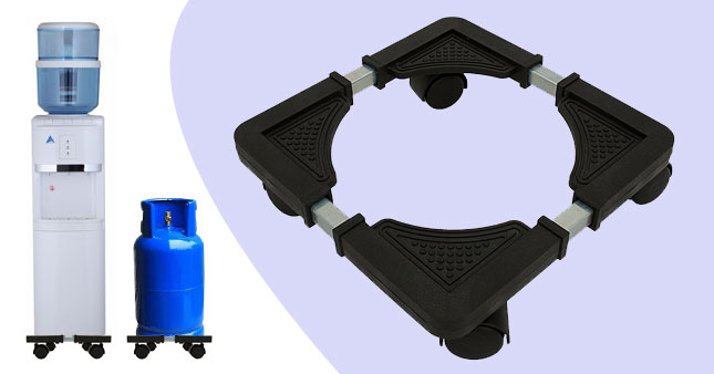 50% OFF! Adjustable Trolley/Stand for water dispenser and Gas Cylinder worth Rs. 1,900 for just Rs. 950!