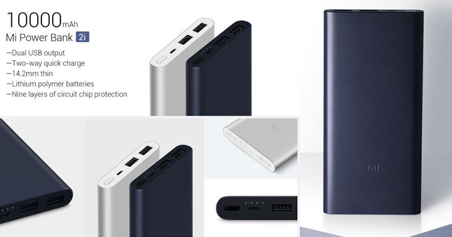30% OFF! Xiaomi mi 10000mah power bank 2i with fast charging worth Rs. 4,800 for just Rs. 3,350!