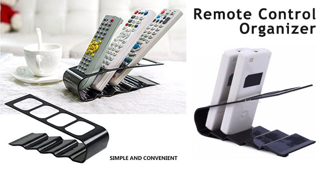 50% OFF! Remote Control Organizer Shelf worth Rs. 700 for just Rs. 350!