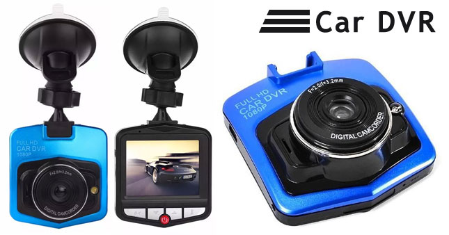 50% OFF! 2.4 Inch LCD HD Car DVR Camera worth Rs. 4,500 for just Rs. 2,250!
