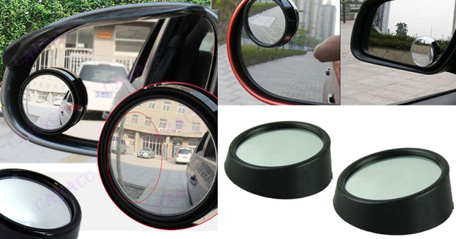 50% OFF! Twin pack of Blind spot mirrors Worth Rs. 600 for just Rs. 300!