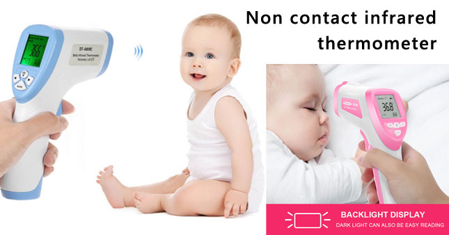 50% OFF! Non-Contact Infrared Thermometer worth Rs. 5,500 for just Rs. 2,750!