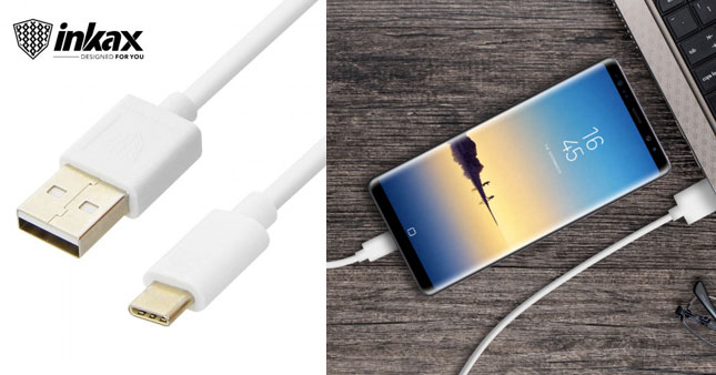 50% OFF! Inkax Type C Super Speed Charging Cable worth Rs. 700 for just Rs. 350!