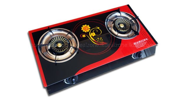 40% OFF! Amaze 2 Burner Glass Top Gas Cooker worth Rs. 8,250 for just Rs. 4,950!
