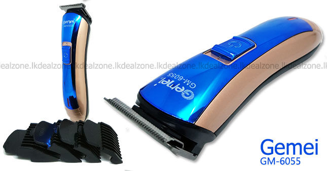 40% OFF! Gemei GM-6055 Professional Hair And Beard Trimmer worth Rs. 1,900 for just Rs. 1,150!