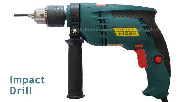 31% OFF! Multi-functional Rotary Electric Impact Drill worth Rs.5,500 for just Rs.3,750!