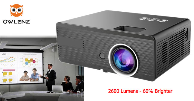 40% OFF! 2300 Lumens Daylight Multimedia Mini LED Projector worth Rs.39,500 for just Rs. 23,500 inclusive of Warranty!