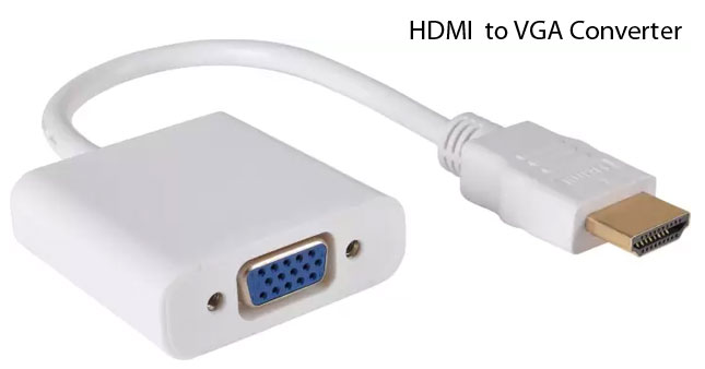 33% OFF! HDMI to VGA Converter worth Rs. 1,650 for just Rs. 1,100!