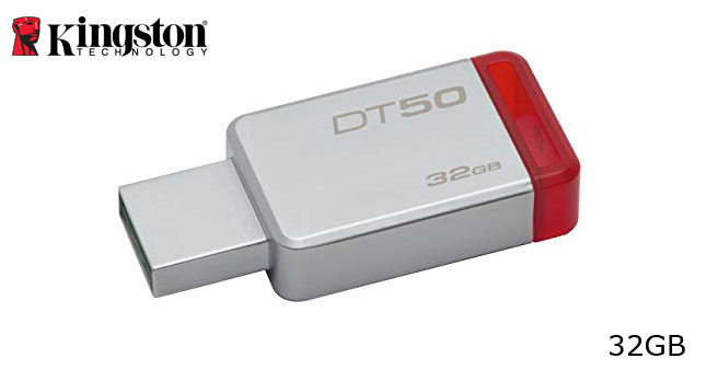 40% OFF! Kingston 32GB Flash Drive worth Rs. 2,500 for just Rs. 1,450!