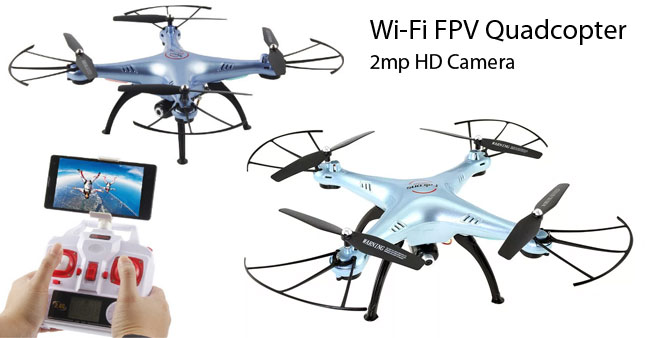 30% OFF! DM006 Falcons WIFI FPV Real time Camera Drone with Altitude hold function worth Rs. 19,500 for just Rs. 13,500!