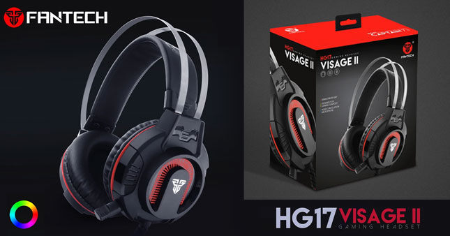 40% OFF! FanTech HG17 Visage II Gaming Headphone worth Rs. 5,400 just for Rs. 2,700!