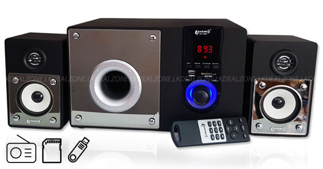 30% OFF! Super Bass 2.1CH Subwoofer with radio worth Rs. 8,300 for just Rs. 5,800!