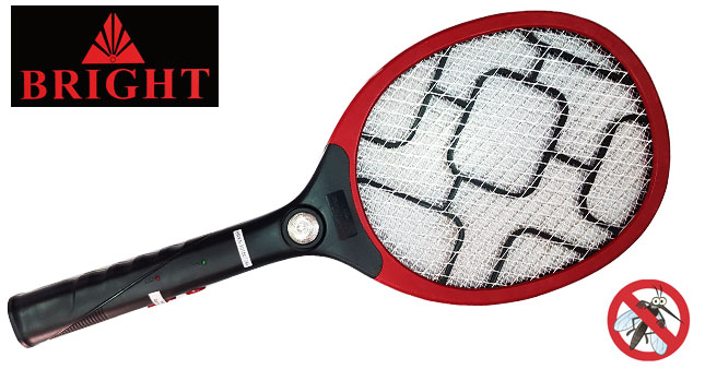 43% OFF! Bright Rechargeable Mosquito Swatter Racket with Torch worth Rs. 1,750 for just Rs. 990 inclusive warranty!