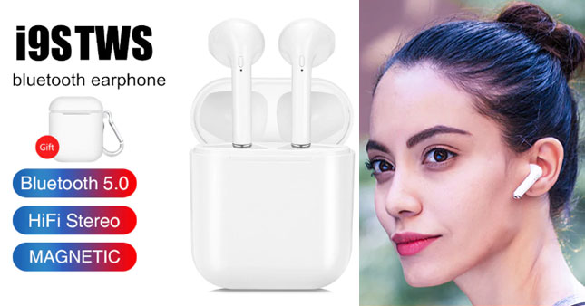 33% OFF! I9s TWS Wireless Bluetooth 5.0 In-Ear Earphones worth Rs. 5,750 for just Rs. 3,850!